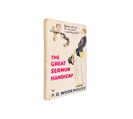 The Great Sermon Handicap by P.G. Wodehouse First Edition Hodder & Stoughton 1933